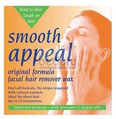 Smooth Appeal Original Formula Peel Off Facial Hair Remover Wax 40g