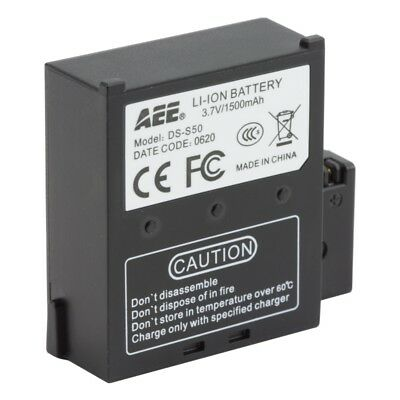 Replacement battery for Edge HD30W and AEE S-Series action cameras
