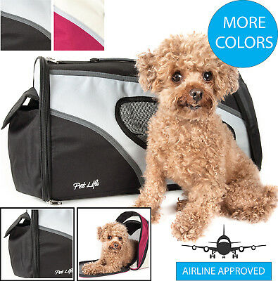 Airline Approved Phenom-Air Collapsible Folding Travel Pet Dog Carrier bag