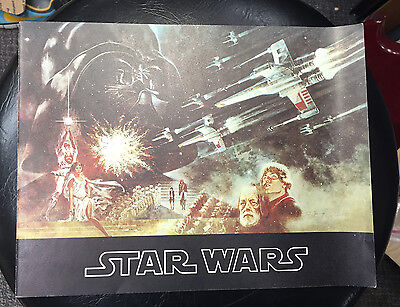 1977 Star Wars Movie Program