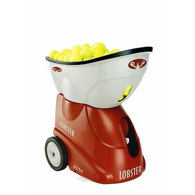 Lobster® Sports elite freedom Portable Battery Operated Tennis Ball Machine EL0A