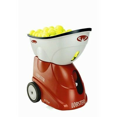 Lobster Sports elite freedom Portable Battery Operated Tennis Ball Machine EL0A