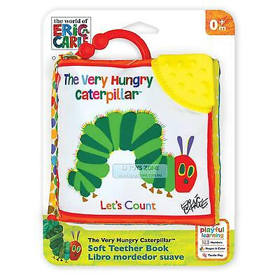 """The Very Hungry Caterpillar Clip-On Educational Soft Book """"Let's Count"""""""