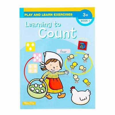 Play and Learn Exercises Book Learning to Count Book 1