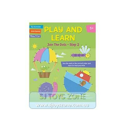 Play and Learn Activity Book Join the Dots Step 2