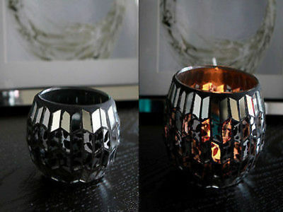 12 x Tealight Holder Mosaic 6.5 x 8cm Bulk Wholesale lot reduced to clear