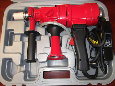 2 SPEED HAND HELD CORE DRILL - BRAND NEW with CASE