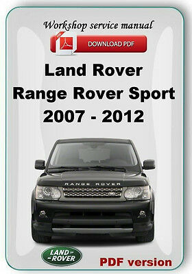 landrover range rover sport 2007 2008 2009 2010 2011 2012 factory rh picclick com 2011 range rover sport supercharged owners manual 2011 range rover sport hse owners manual pdf