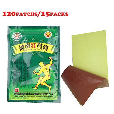 120 Patches Muscular Pain Relieving Patch Tiger Balm Warm Plaster Relief Patches