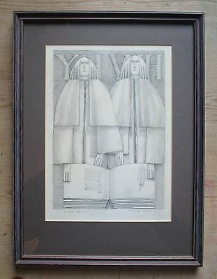 Original Pencil Drawing by David England-Listed Artist & Sculptor