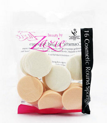 ** Zazie 16 Cosmetic Round Make-Up Blenders Sponge New ** Applicator