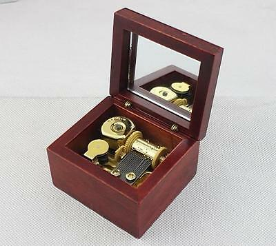 NEW Windup Sankyo Wooden Music Box Harry Potter Hedwig's Theme XMAS Gift