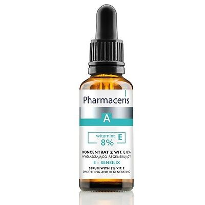 PHARMACERIS E- SENSILIX SERUM WITH 8% Vit E - smoothing and regeneration 30ml