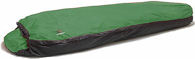 Aqua Quest Mummy Bivy Sack - Waterproof One Person Sleeping Bag Cover - Green