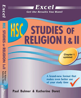 Excel HSC Studies of Religion I & II Study Guide NEW Pascal Press 9781741252507