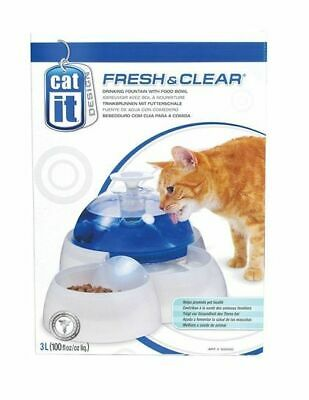 Cat It Design Fresh & Clear Water Drinking Fountain Dog Food Feeding Bowl