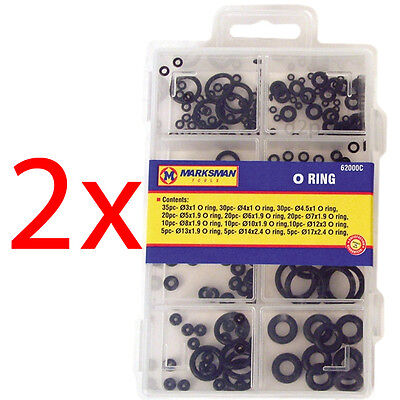 330Pc O Ring Set Assorted Sizes Plumbing Diy Air Seal Rubber Tap Sink Seal New
