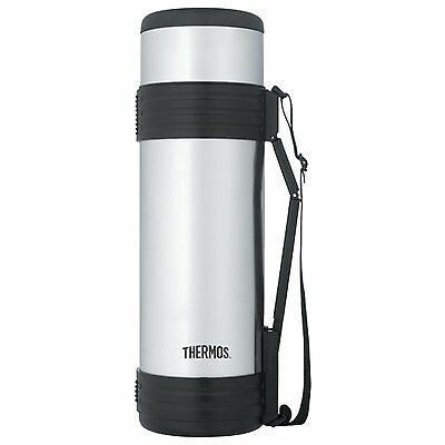 Thermos Nissan Ncd1800p4 61-Oz Stainless Steel Bottle With Folding Handle