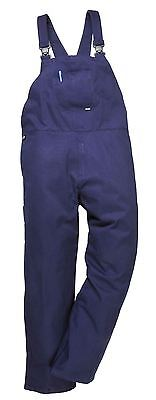 Portwest Engineers Bib & Brace Trousers Dungarees Workwear Student S - 4XL C881