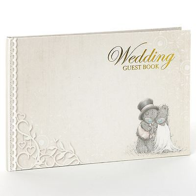Me to You Luxury Wedding Guest Signing Book - Tatty Teddy Bear