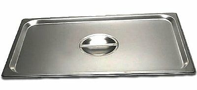 Full Size Stainless Steel Steam Table Pan Cover - Nsf