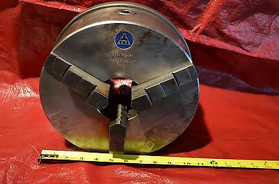 "10"" TOS 3 Jaw Chuck Cam Mount Machine Tool TOS 250/3-2-M1"