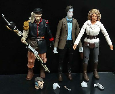 lot 3 DOCTOR WHO UNCLE  the 11TH doctor RIVER SONG action figure #GDS4