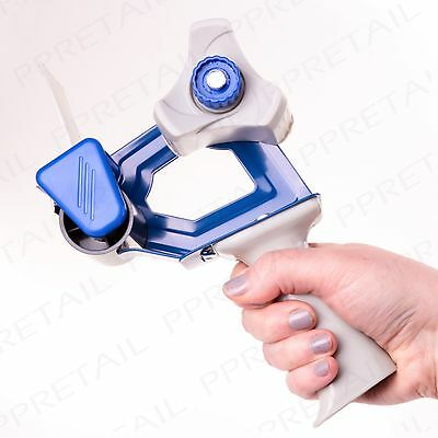 "PACKING TAPE GUN 50mm/2"" Hand Dispenser Parcel Sealing Packaging Roll Cutter"
