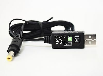 12V USB power cable for Tech 21 Fly Rig 5 Multi-effects
