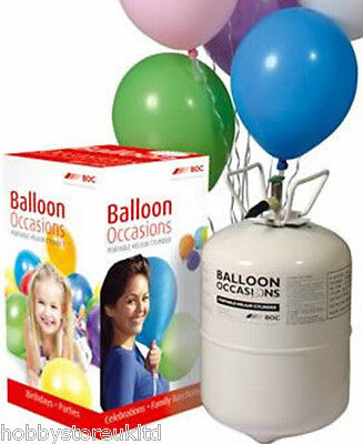 Potable Gas Cylinder Helium Balloon Canister Fills 40 Balloons Any Occasions New