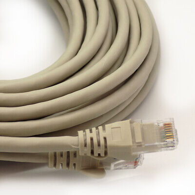 10M Rj45 Network Cat5E Ethernet Patch Lead Router Modem Fast Internet Lan Cable