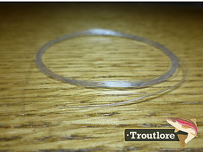 TAPERED LEADER 4X TIPPET CLEAR NYLON 9 feet 5.35 LB- NEW FLY FISHING LINE