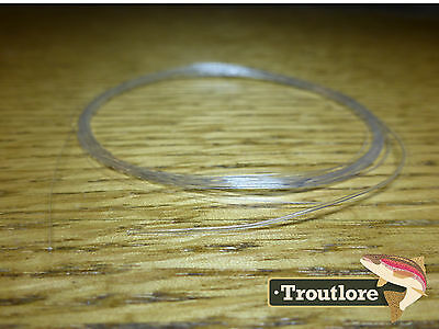 TAPERED LEADER 5X TIPPET CLEAR NYLON 9 feet 4.29 LB- NEW FLY FISHING LINE