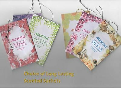 Scented Hanging Wardrobe Sachets Freshener Fragrance Freshener Air Drawer Room