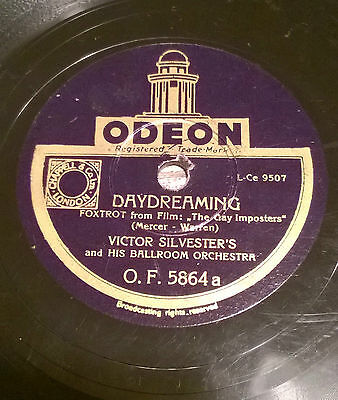 SC072 Schellack ODEON O.F. 5864 Victor Silvester´s, Daydreaming, One Day When...