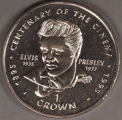 Gibraltar 1996 Elvis Presley 1 Crown Coin