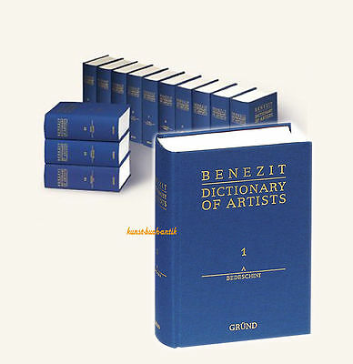 Benezit Dictionary of Artists  - complete edition 14 volumes in English - (NEW)