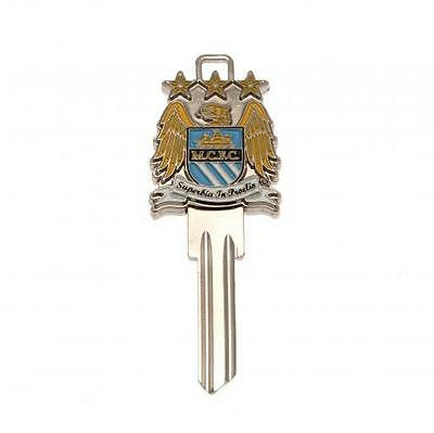 Official Licensed Football Product Manchester City Door Key 3D Blank Crest Gift