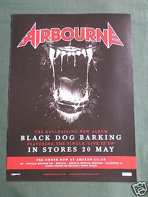 Airbourne - Magazine Clipping / Cutting- 1 Page Advert