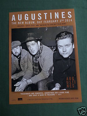 Augustines - Magazine Clipping / Cutting- 1 Page Advert