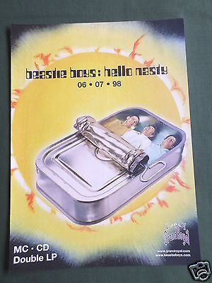 Beastie Boys - Magazine Clipping / Cutting- 1 Page Advert