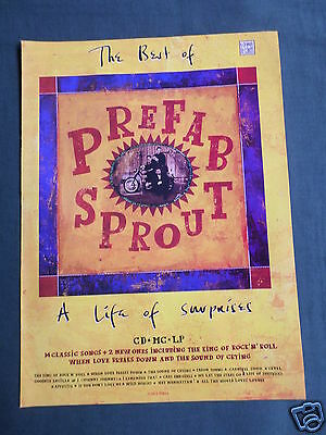 Prefab Sprout - Magazine Clipping / Cutting- 1 Page Advert