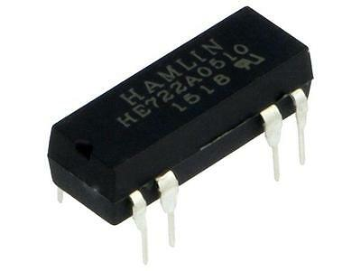 HE722A0510 Relay reed DPST-NO Ucoil5VDC max200VDC Rcoil200Ω 125mW PCB