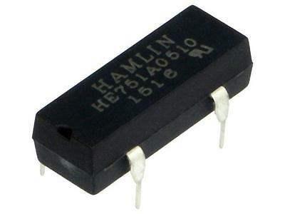 HE751A0510 Relay reed SPST-NO Ucoil5VDC max300VDC Rcoil500Ω 50mW PCB