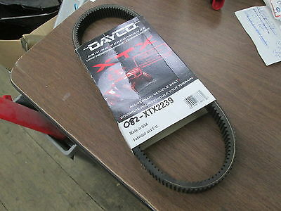 New Dayco XTX Extreme Torque Drive Belt 2007 & Up Polaris Models w/ EBS XTX2239