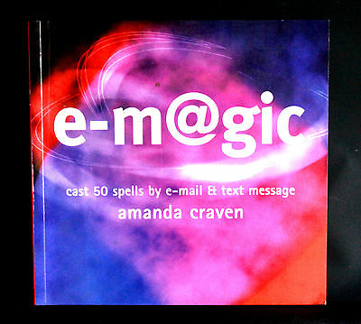 E-M@GIC Cast 50 Spells by E-mail & Text E-Magic Wicca Magic Spellbook New Age