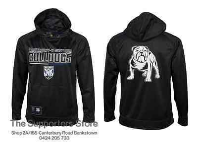 Canterbury Bankstown Bulldogs NRL 2016 Classic Polyester Hoody Size S-5XL!