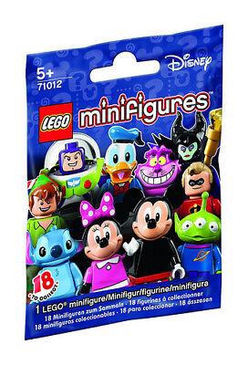 Lego Disney Minifigures 71012 - Choose Your Lego Disney Mini Figure