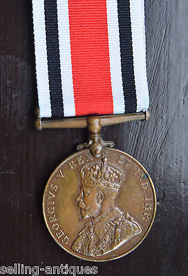 George V Medal For Faithful Service In The Special Constabulary- George Smith