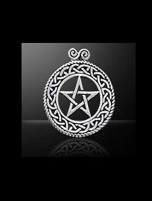 Celtic Knot Pentacle Pendant - Sterling Silver    Peter Stone